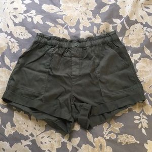Olive Aerie Shorts
